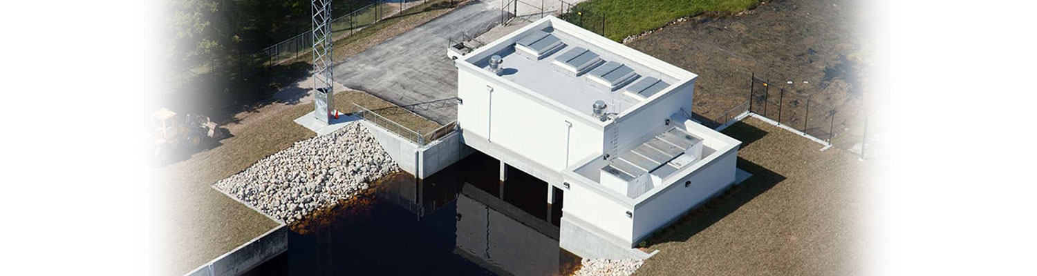Water Drainage aerial of building